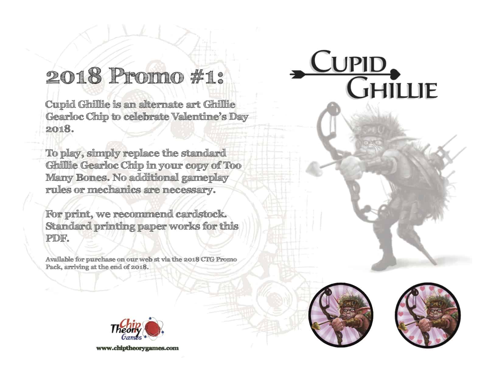 CTG Promo 2018 - Cupid Ghillie