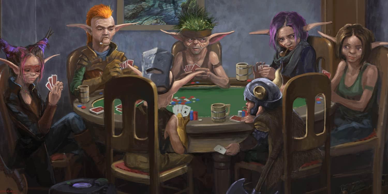 Gearloc's Playing Poker?