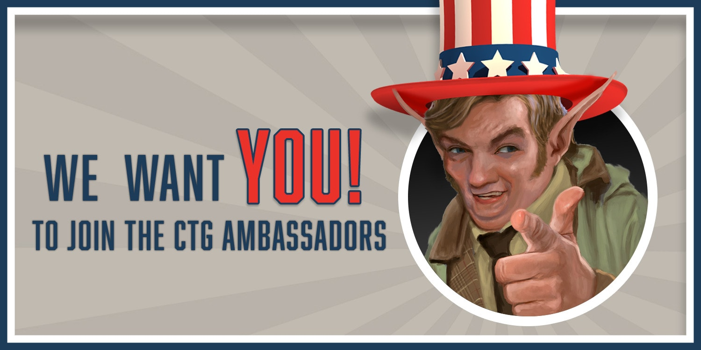 CTG Ambassadorspost