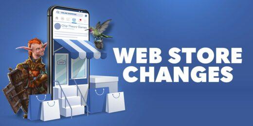 webstore changes
