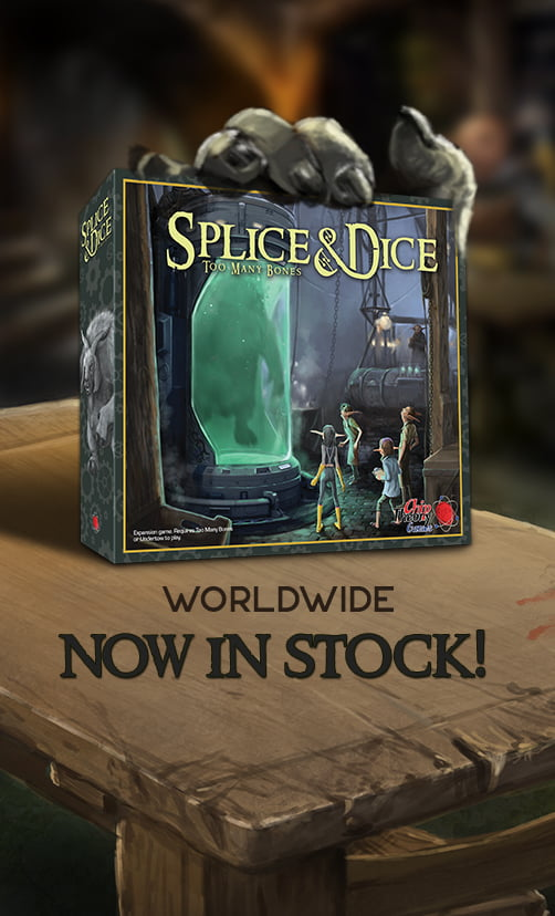 Splice & Dice Now in Stock