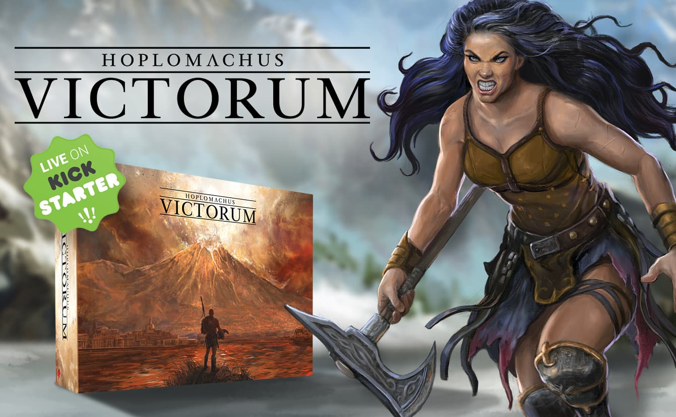 Hoplomachus Victorum Now Live on Kickstarter